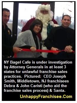 Debra & John Caristi NY Bagel