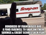 Snap-on Salute