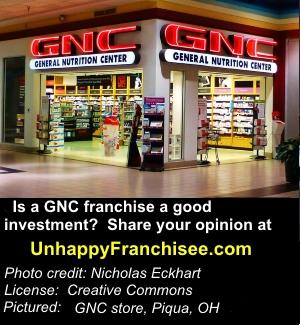 GNC franchise