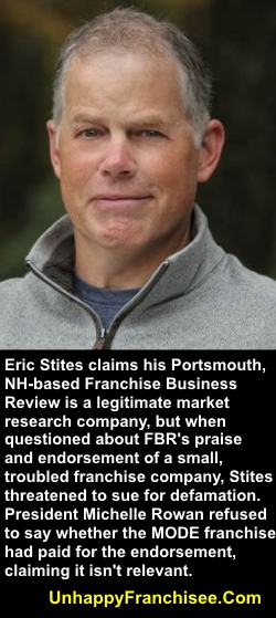Eric Stites Franchise Business Review