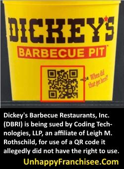 Dickey's Lawsuit