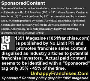 1851 Franchise Magazine