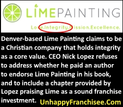 Lime Painting franchise