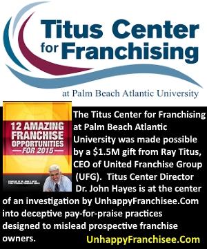 titus center for franchising