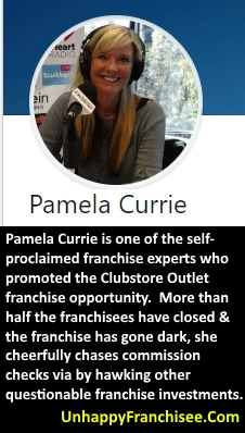 Pamela Currie Clubstore Outlet