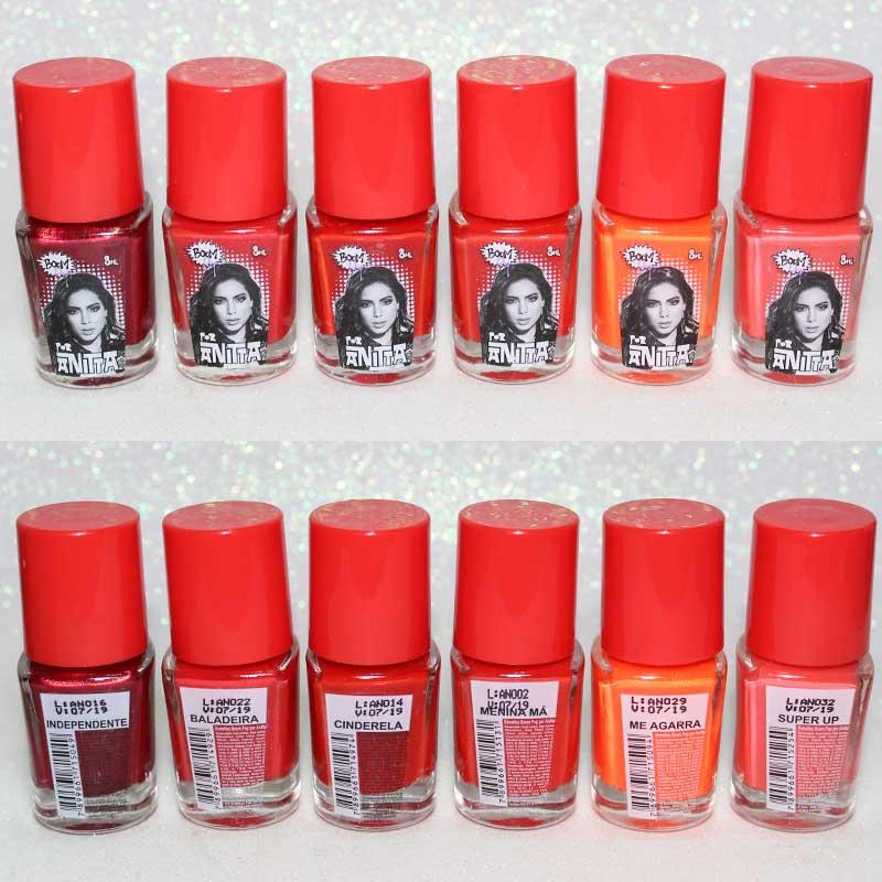 Esmalte Anitta Boom Pop laranja