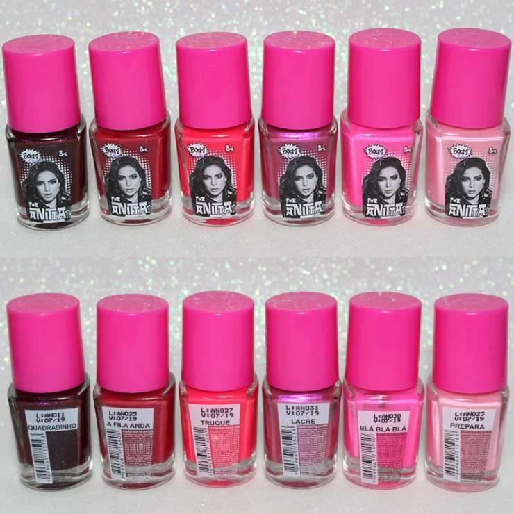 Esmalte Anitta Boom Pop rosa