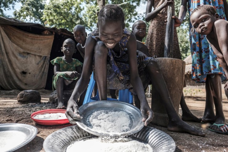 Ethiopia. Young South Sudanese refugees desperate to access education