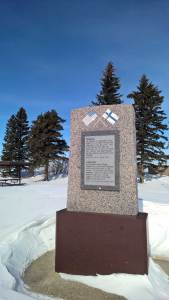 Finnish Pioneers Monument near Rolla, ND