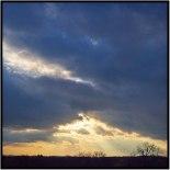 November 6: Nearing sunset, Bloomington, Minn.