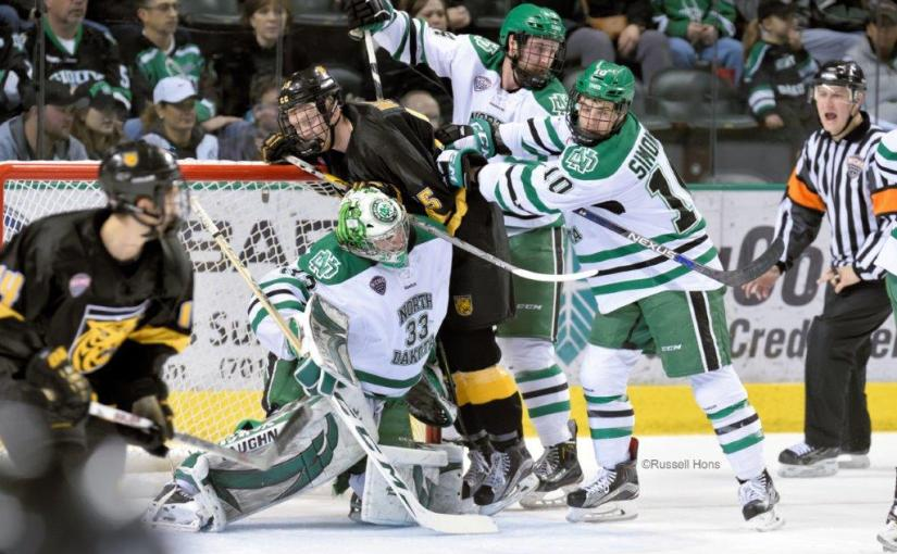 RUSS HONS: Photo Gallery — University of North Dakota Vs. Colorado College, March 11, 2016