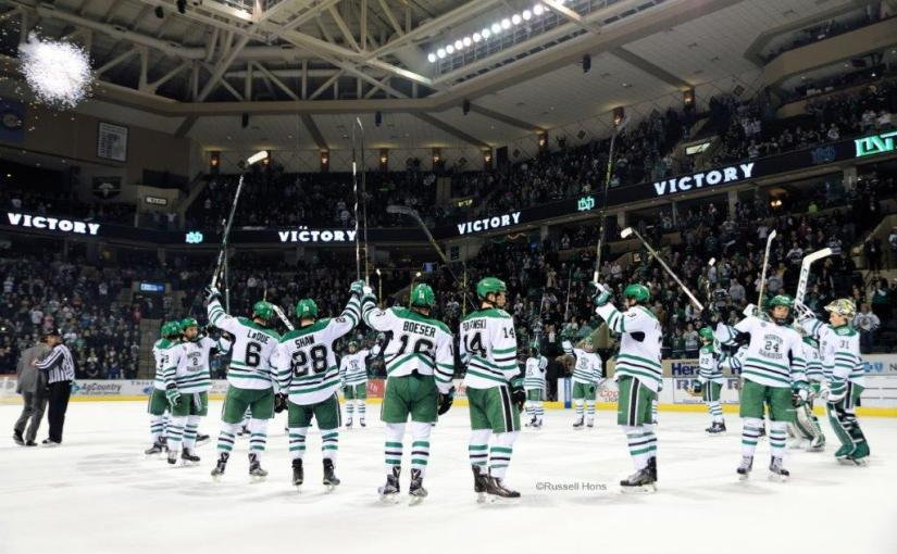 RUSS HONS: Photo Gallery — University of North Dakota Vs. Colorado College, March 12, 2016