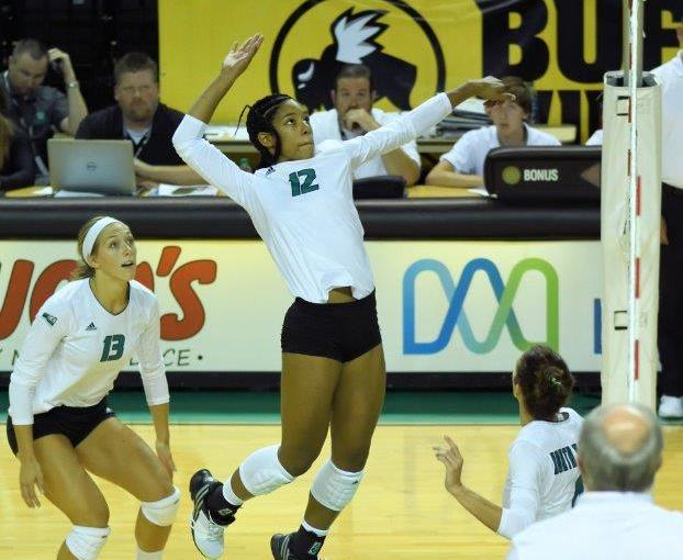 RUSS HONS: Photo Gallery —Women's Volleyball, University Of North Dakota Vs. University of Mississippi