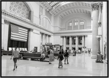 September 12: Chicago's Union Station in Chicago photographed a few days ago.