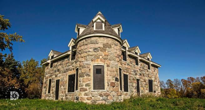 October 1: Coghlan Castle in Rolla, N.D.