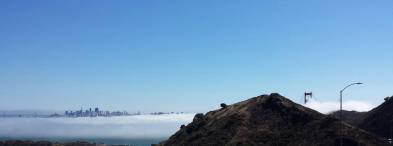 September 27: Golden Gate Bridge and San Francisco.
