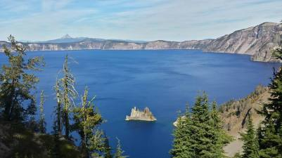 September 29: A day at Oregon's Crater Lake National Park.