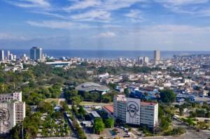 Panoramic view of Havana.