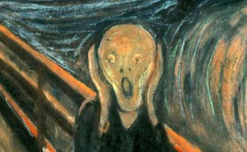 RON SCHALOW: The Scream