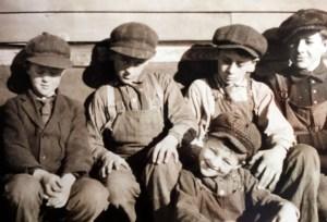 Eldo, Waldo, Otto, Hugo (from left) and Leo (front).