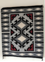 Rug purchased from Goulding's Trading post in Monument Valley, Utah.