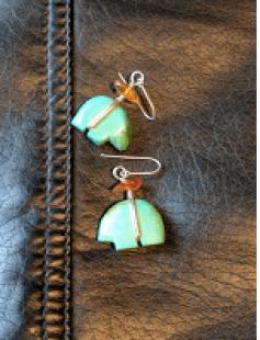 Turquoise jewelry.