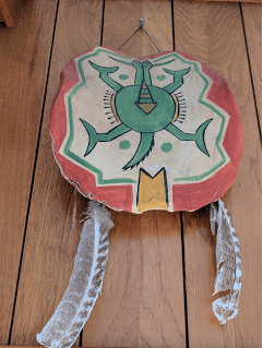Mandan turtle drum.
