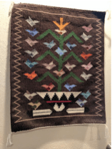 """""""Tree of Life,"""" woven by Lena Begay"""