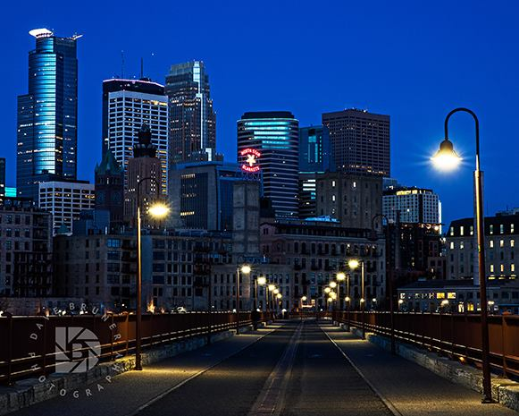 DAVE BRUNER: Photo Gallery — Minneapolis Skyline