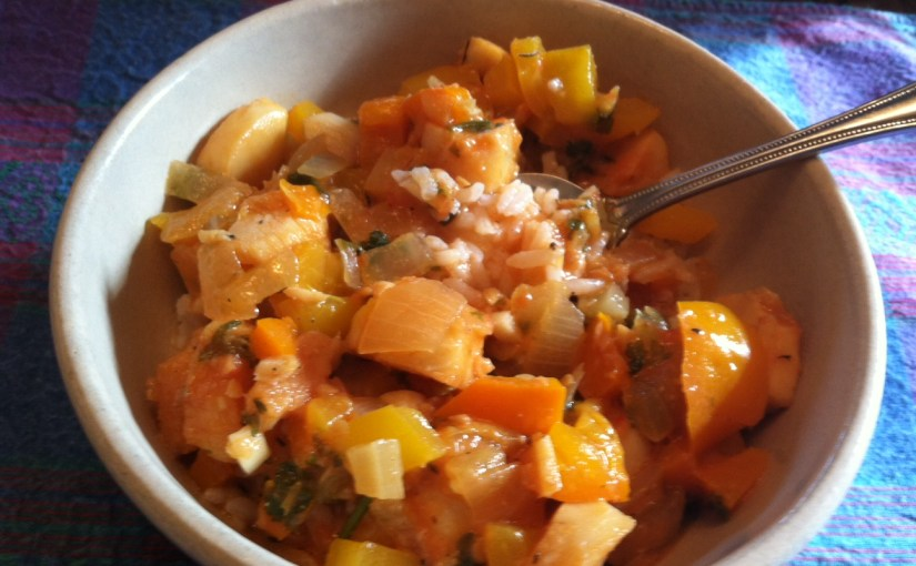 CHEF JEFF: One Byte At A Time — Caribbean Fish Stew
