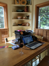My indoor workspace.