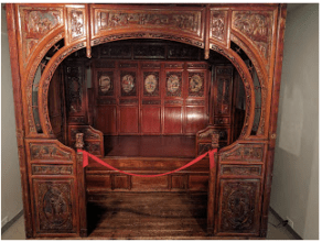 Barton's Chinese Opium Bed.