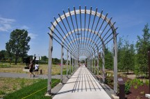 Alene Grossman Memorial Arbor and Flower Garden .