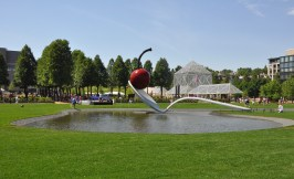Spoonbridge and Cherry Claes Oldenburg remains my favorite sculpture at the Walker.