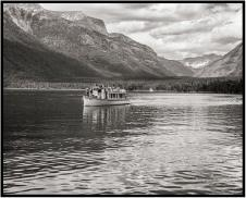June 26: Glacier Park's Lake McDonald, photographed in monochrome last week.