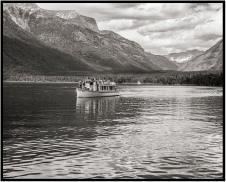 June 26: Glacier Park's Lake McDonald, photographed in monochrome last week.
