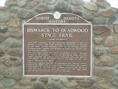 LILLIAN CROOK: WildDakotaWoman — Bismarck To Deadwood And Back (But Not On The Stagecoach)