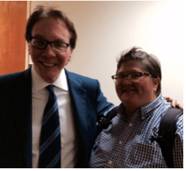 Me and my mentor, Alan Colmes in 2015.
