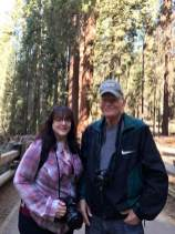Kristi and I at Sequoia National Park