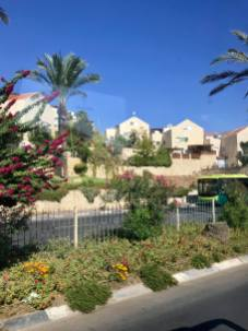 Israeli settlement on West Bank.