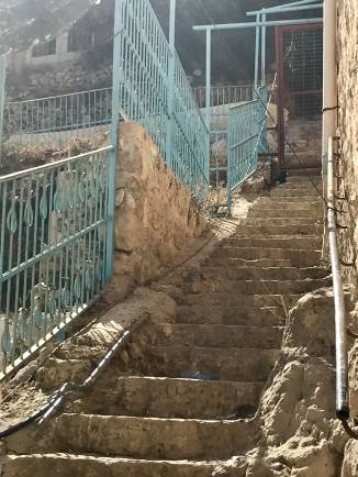 People must pass through this gate to get to their homes. No other Palestinians are allowed in.