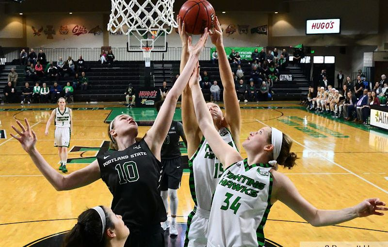 RUSS HONS: Photo Gallery — University Of North Dakota Vs. Portland State University