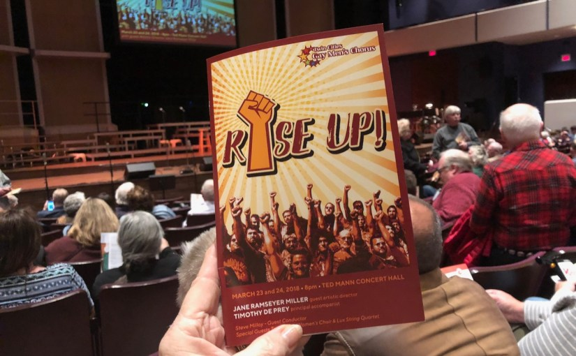 LA VALLEUR COMMUNICATES: Musings by Barbara La Valleur — Rise Up!: Twin Cities Gay Men's Chorus' Call To Action