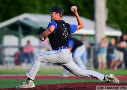 June 19, 2018: The Grand Forks Royals took on East Grand Forks in American Legion baseball at Kraft Field in Grand Forks, ND. The Royals won 14-10. (Photo by Russell Hons)