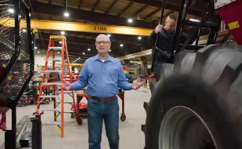 RON SCHALOW: Kevin Stands by Tractors