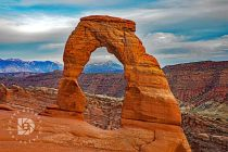 The Delicate Arch. Different angle of this arch. Utah has this similar image on it's states license plates.