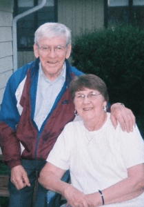My dad, Myke, and mom, Lois.