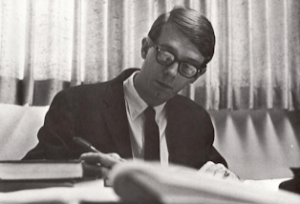 Ray Wheeler, first year on DSU faculty, 1965.