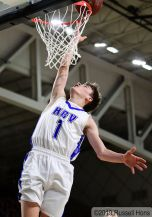 March 5, 2019 2019 NDHSAA Class B, Region 2 Boys Basketball Tournament Semi-Final between Hillsboro/Central Valley and Grafton. All photos can be viewed here: https://bit.ly/2FMqLq1