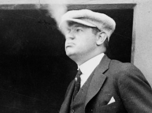 CUTLINE: Major League Baseball can be thankful that Babe Ruth came out smoking at the right time.